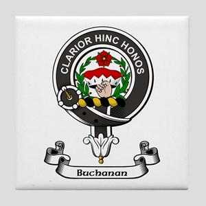 Badge - Buchanan Tile Coaster