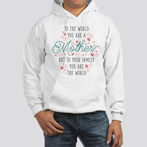 You Are The World Hooded Sweatshirt