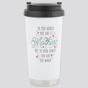 You Are The World Stainless Steel Travel Mug
