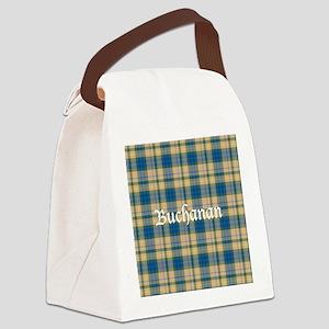 Tartan - Buchanan hunting Canvas Lunch Bag