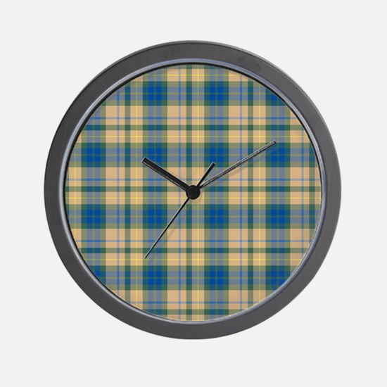 Tartan - Buchanan hunting Wall Clock
