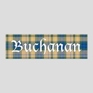 Tartan - Buchanan hunting 36x11 Wall Decal