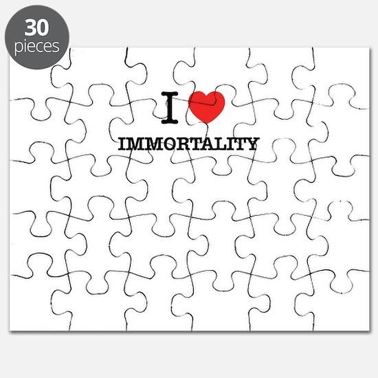 I Love IMMORTALITY Puzzle
