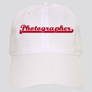 Photographer (sporty red) Cap