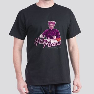 I Love Lucy: Yes Please Dark T-Shirt
