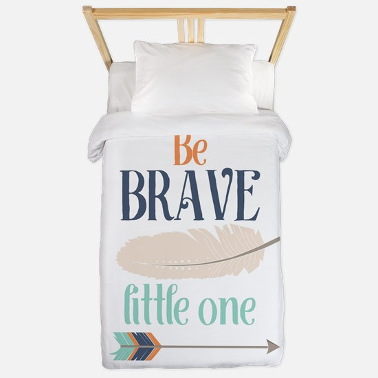 Be Brave Little One Twin Duvet