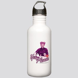 I Love Lucy: Yes Pleas Stainless Water Bottle 1.0L