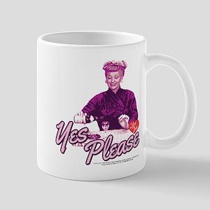 I Love Lucy: Yes Please Mug