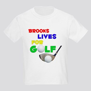 Brooks Lives for Golf - Kids Light T-Shirt