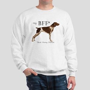 German Shorthaired Pointer BFF Sweatshirt