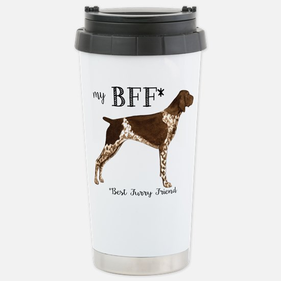 German Shorthaired Poin Stainless Steel Travel Mug
