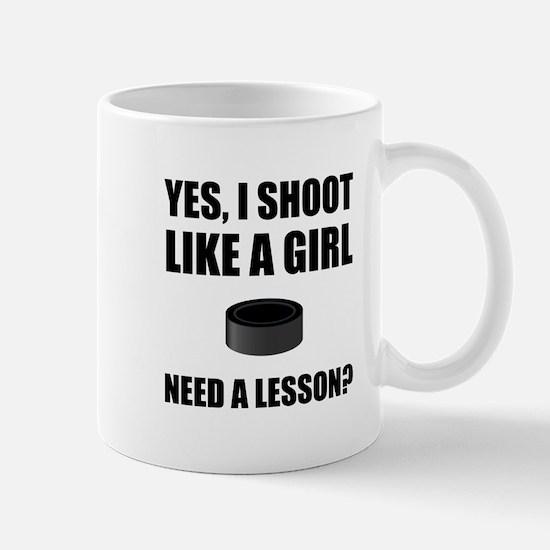 Like A Girl Hockey Mugs