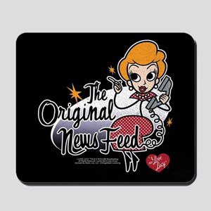 I Love Lucy: The Original News Feed Mousepad