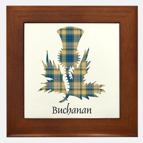 Thistle-Buchanan hunting Framed Tile
