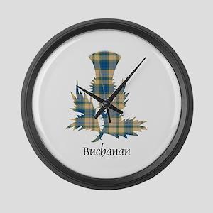 Thistle-Buchanan hunting Large Wall Clock