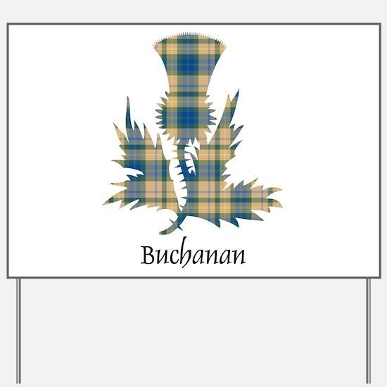 Thistle-Buchanan hunting Yard Sign