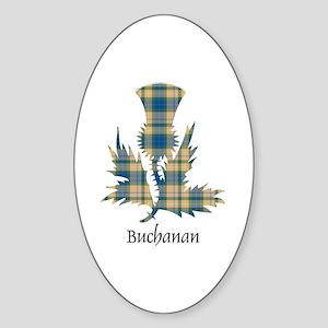Thistle-Buchanan hunting Sticker (Oval)