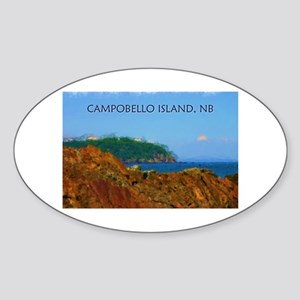 Campobello Island, NB, Canada Sticker