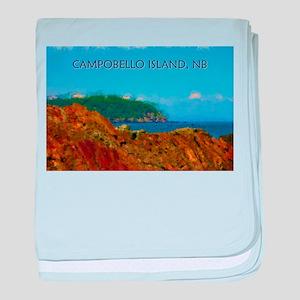 Campobello Island, NB, Canada baby blanket