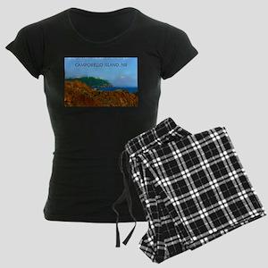 Campobello Island, NB, Canad Women's Dark Pajamas