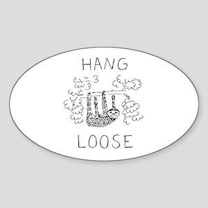 Hang Loose Sloth Sticker