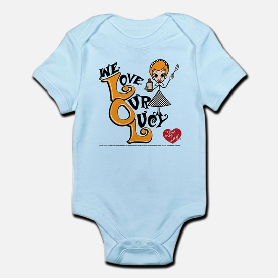 We Love Our Lucy Infant Bodysuit