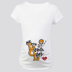 We Love Our Lucy Maternity T-Shirt
