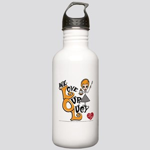 We Love Our Lucy Stainless Water Bottle 1.0L