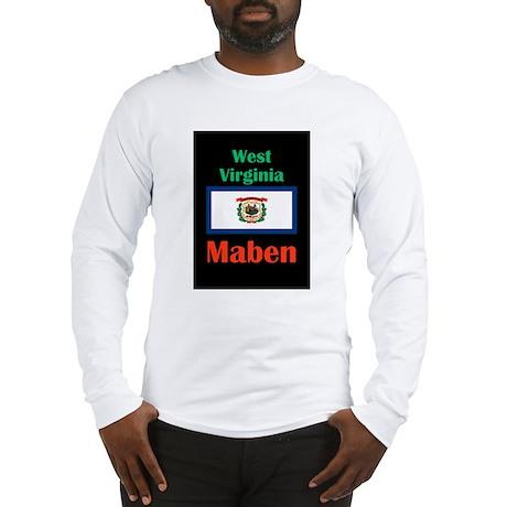 Maben West Virginia Long Sleeve T-Shirt