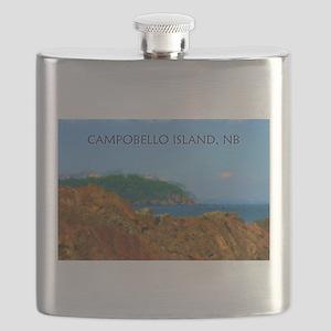 Campobello Island, NB, Canada Flask