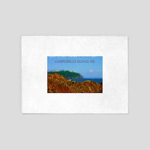 Campobello Island, NB, Canada 5'x7'Area Rug