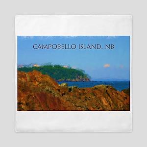 Campobello Island, NB, Canada Queen Duvet