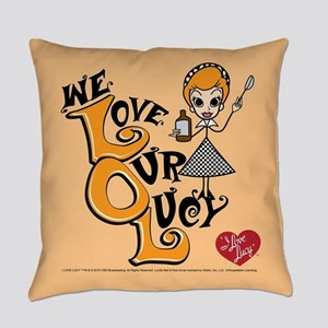 We Love Our Lucy Everyday Pillow