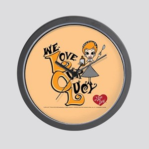 We Love Our Lucy Wall Clock
