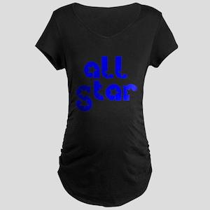 all star Maternity Dark T-Shirt