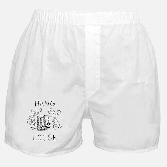 Hang Loose Sloth Boxer Shorts