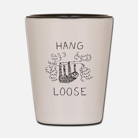 Hang Loose Sloth Shot Glass