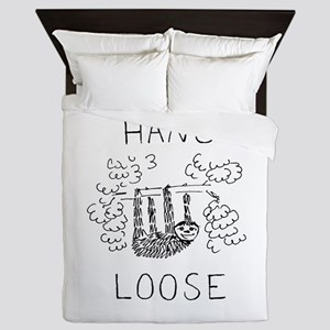 Hang Loose Sloth Queen Duvet