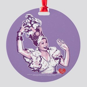 I Love Lucy: Lucy Rumba Round Ornament