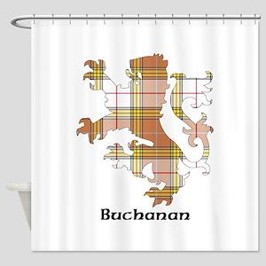 Lion - Buchanan dress Shower Curtain