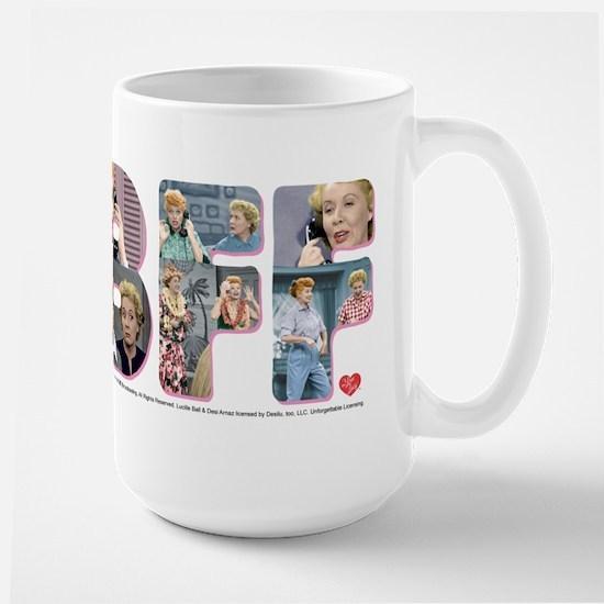 I Love Lucy: BFF Large Mug