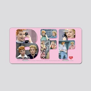 I Love Lucy: BFF Aluminum License Plate