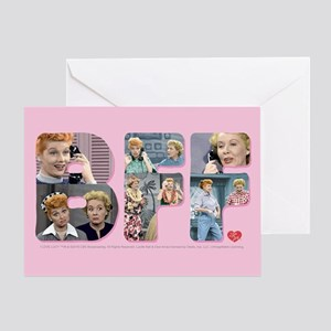 I Love Lucy: BFF Greeting Card