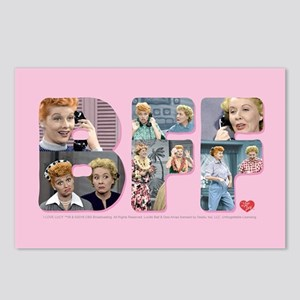 I Love Lucy: BFF Postcards (Package of 8)