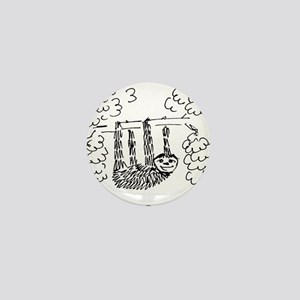 Hang Loose Sloth Mini Button
