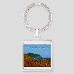 Campobello Island, NB, Canada Keychains
