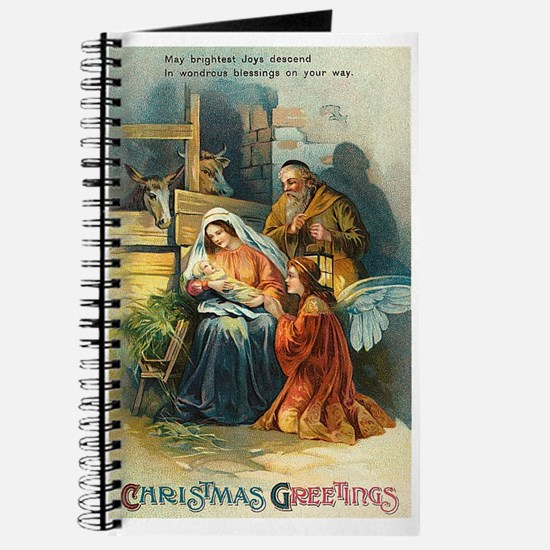 Nativity Scene Journal