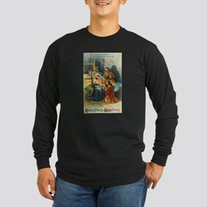 Nativity Scene Long Sleeve T-Shirt