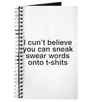 Swear Words Journal