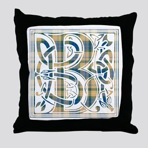Monogram-Buchanan hunting Throw Pillow